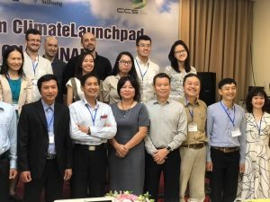 Joining in Climate Launchpad program