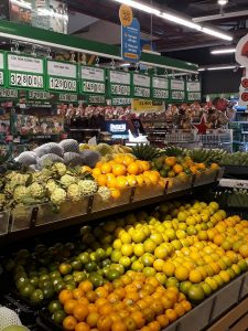 Products in supermarkets
